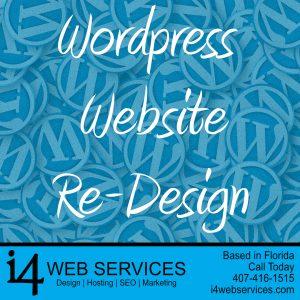 WordPress Re-Design - i4 Web Services